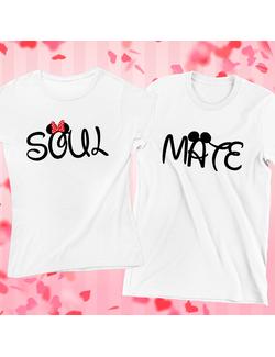 Tricouri Cuplu Soul Mate
