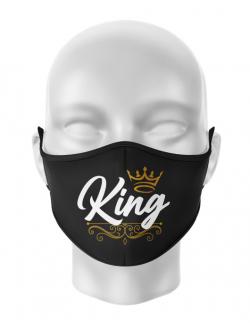 Masca reutilizabila personalizata King