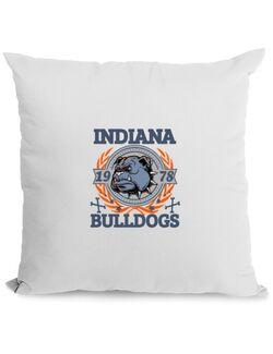 Perna personalizata Indiana Bulldogs Alb