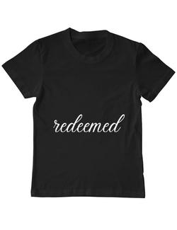 Tricou ADLER copil Redeemed Negru