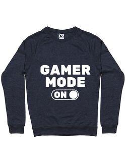 Bluza ADLER barbat Gamer mode on Denim inchis