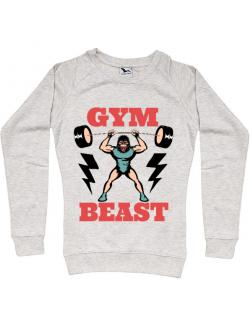Bluza ADLER dama Gym Beast Migdala melanj