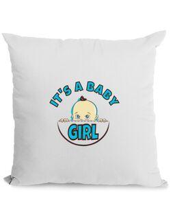Perna personalizata It's a baby girl Alb