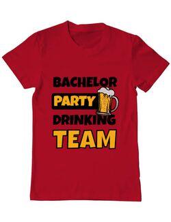 Tricou Petrecerea burlacilor ADLER Bachelor Party Rosu
