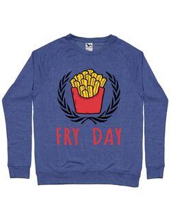 Bluza ADLER barbat Fry Day Albastru melanj