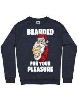 Bluza ADLER barbat Bearded for your pleasure Denim inchis