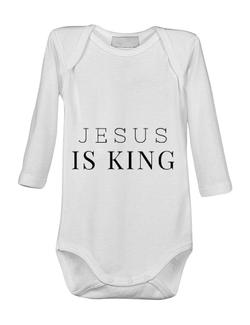 Baby body Jesus Is King Alb