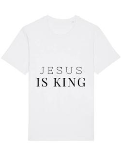 Tricou STANLEY STELLA barbat Jesus Is King Alb
