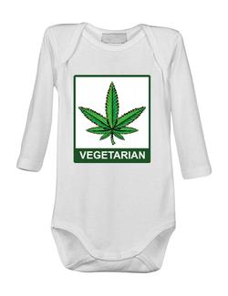 Baby body Vegetarian Alb