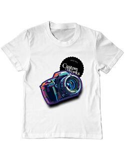 Tricou ADLER copil CW Camera Alb