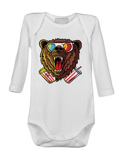 Baby body 3D Cinema Bear Alb