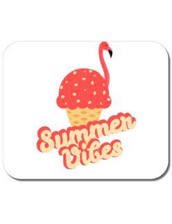 Mousepad personalizat Summer Vibes Alb