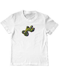 Tricou ADLER copil Jale Alb