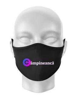Masca personalizata reutilizabila Campineanca Negru
