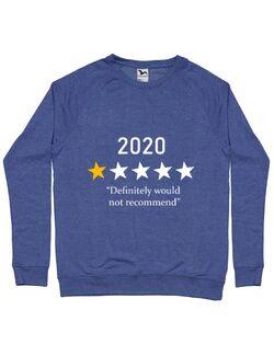 Bluza ADLER barbat 2020 - o stea, nu recomand Albastru melanj