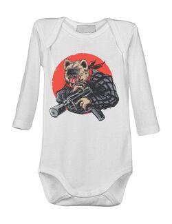 Baby body Heyna with gun Alb