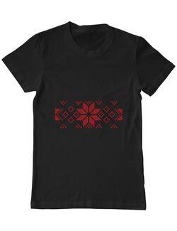 Tricou ADLER barbat Traditional Negru