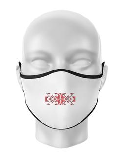 Masca personalizata reutilizabila Traditional Alb