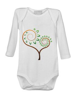 Baby body Traditional Alb