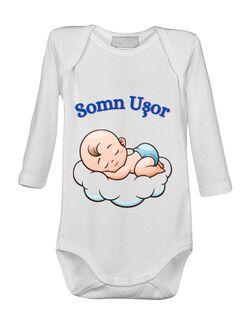 Baby body Somn Usor Alb