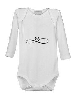 Baby body Dragoste Infinita Alb