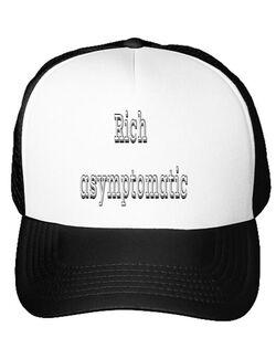 Sapca personalizata Rich asymptomatic Alb
