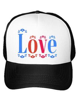 Sapca personalizata Love Alb