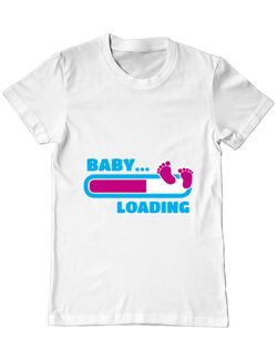 Tricou ADLER barbat Baby loading Alb