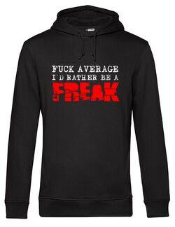 Hanorac barbat cu gluga Average Freak Negru