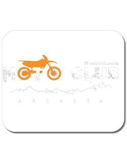 Mousepad personalizat Tricou Moto Club Arcalia Alb