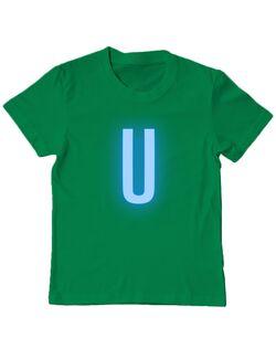 Tricou personalizat copil Tricou Ursan Verde mediu