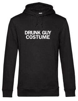 Hanorac barbat cu gluga Drunk Guy Costume Negru