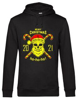 Hanorac barbat cu gluga Heavy Christmas 2021 Negru