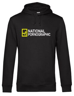 Hanorac barbat cu gluga National P_graphic 2 Negru
