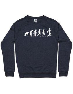 Bluza personalizata barbat RockVolution Heavy Denim inchis