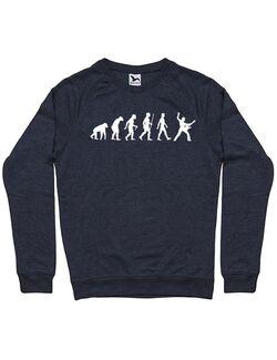 Bluza personalizata barbat RockVolution Roll Denim inchis