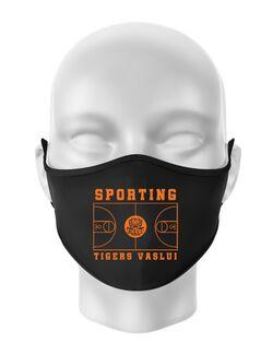 Masca personalizata reutilizabila Baschet Negru