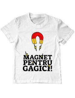 Tricou ADLER copil Magnet pentru gagici Alb