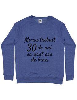 Bluza ADLER barbat 30 de ani Albastru melanj