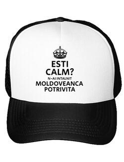 Sapca personalizata Moldoveanca potrivita Alb