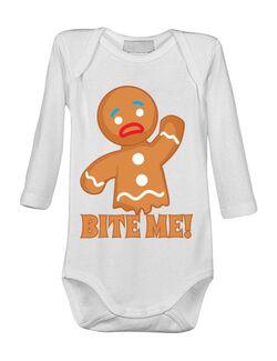 Baby body Bite me Alb