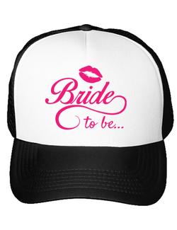Sapca personalizata Bride to be Alb