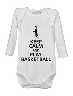 Baby body Play basketball Alb