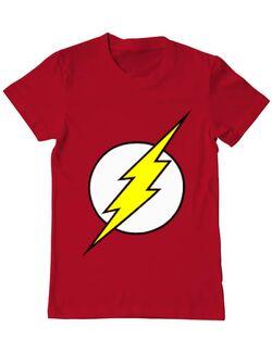 Tricou ADLER barbat The Flash Rosu
