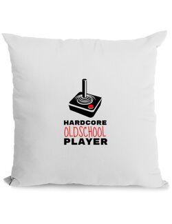 Perna personalizata Hardcore player Alb