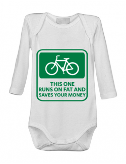 Baby body Bicycle Alb