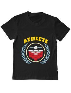 Tricou ADLER copil Athlete Negru