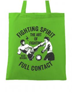Sacosa din panza Kick boxing Verde mar