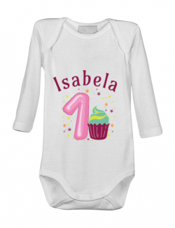 Baby body First Birthday Alb
