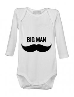Baby body Big man Alb